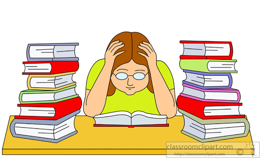 School stress clipart free vector free library Free Exam Cliparts, Download Free Clip Art, Free Clip Art on ... vector free library