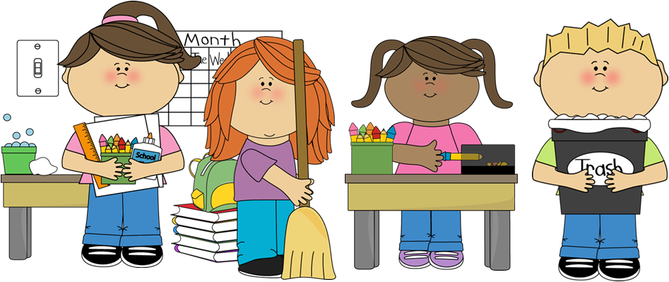 School materials clipart clipart freeuse What does it look like to be responsible in the classroom? (Possible ... clipart freeuse