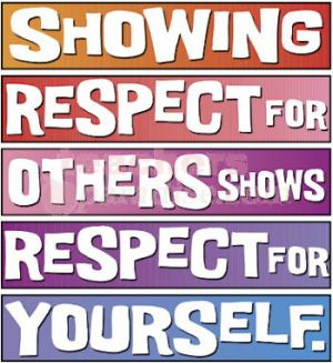 Student showing respect clipart banner transparent stock Clipart of respect - ClipartFox banner transparent stock