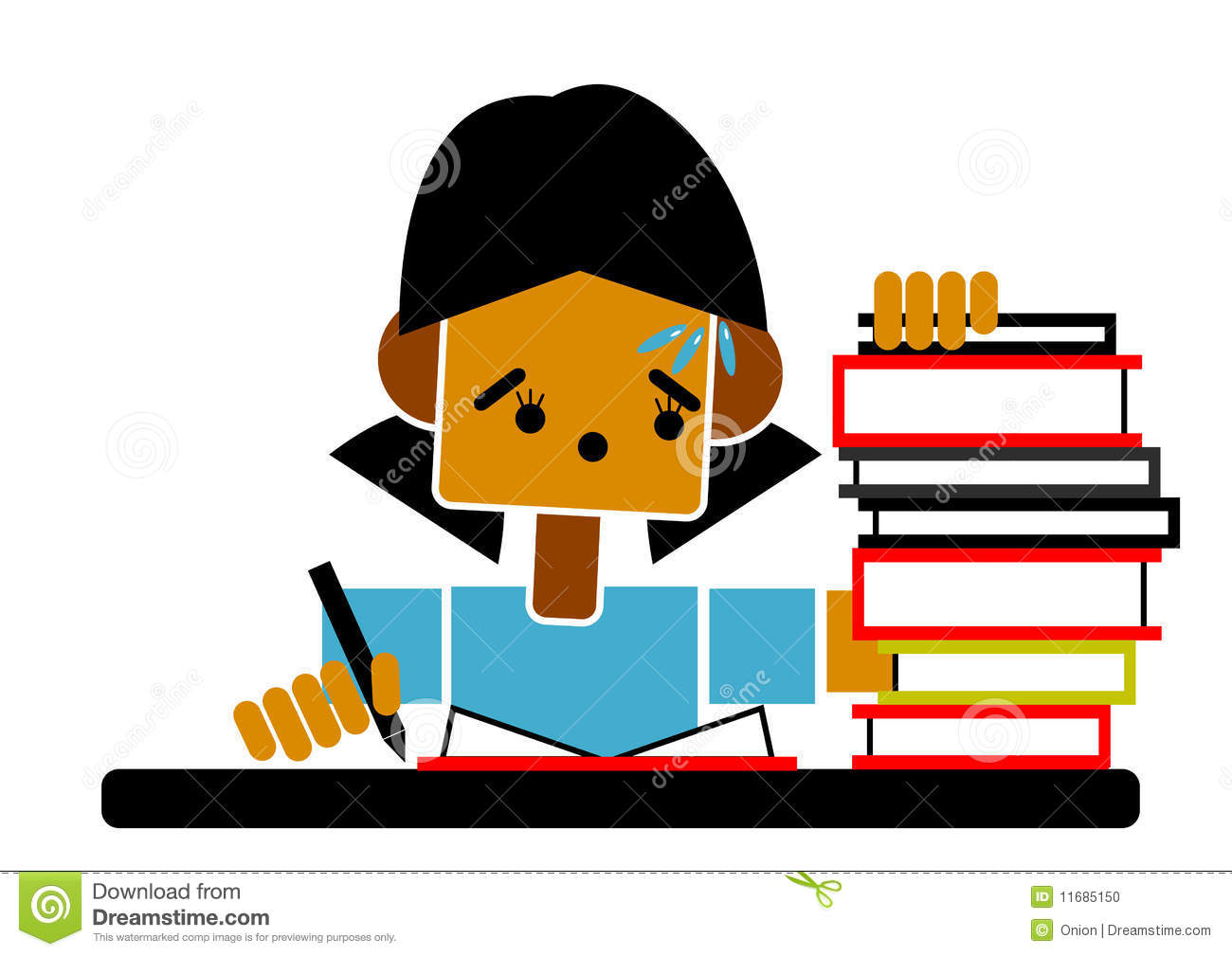 Student turning in homework clipart graphic stock Homework graphics graphic stock