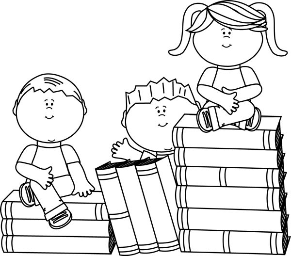 Student with 5 books clipart jpg freeuse library Google Books Clipart - Clipart Kid jpg freeuse library
