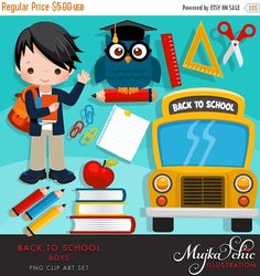 Student with 5 books clipart png black and white library Back to school clipart for girls Cute back to school graphics with ... png black and white library