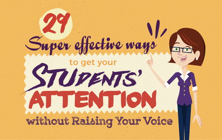 Student with big nose clipart vector black and white library 29 Super Effective Ways to get Your Students' Attention Without ... vector black and white library