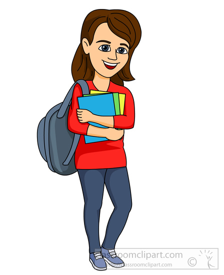 Student with books clipart image stock Search Results - Search Results for books Pictures - Graphics ... image stock