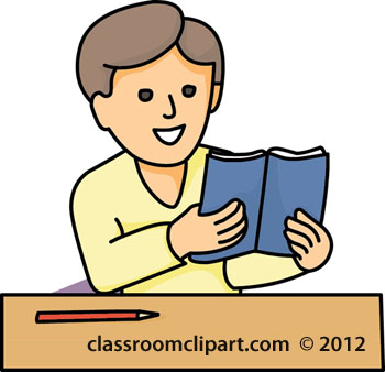 Student with books clipart clip black and white stock Student reading books clipart - ClipartFest clip black and white stock