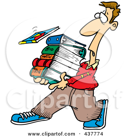 Student with books clipart clip art library Student with books clipart - ClipartFest clip art library