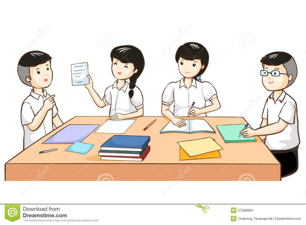 Students learning in a group clipart transparent library Student Working Clipart Work Group Together In - Clipart1001 ... transparent library