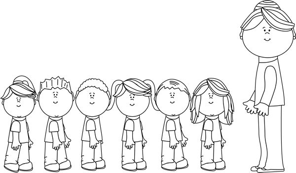 Students listening to teacher clipart black and white png freeuse stock Free Teacher Line Cliparts, Download Free Clip Art, Free ... png freeuse stock