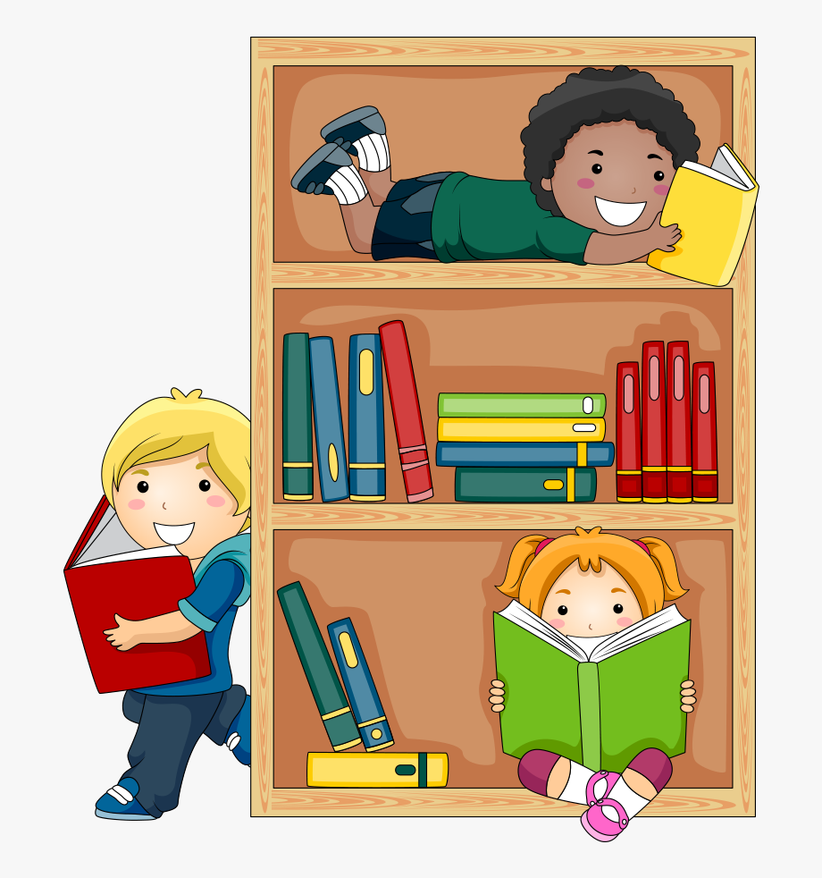 Students putting up library books cartoons clipart png royalty free stock Student Reading Public Library Child Free Transparent - Kids ... png royalty free stock