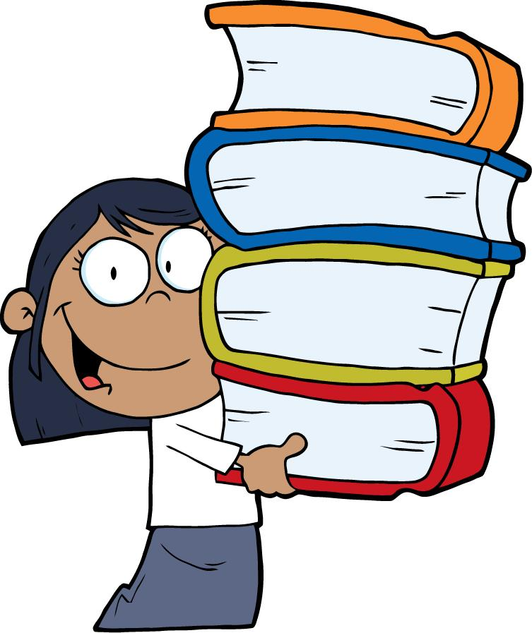 Students putting up library books cartoons clipart clip freeuse stock Free Cartoon Books Cliparts, Download Free Clip Art, Free ... clip freeuse stock