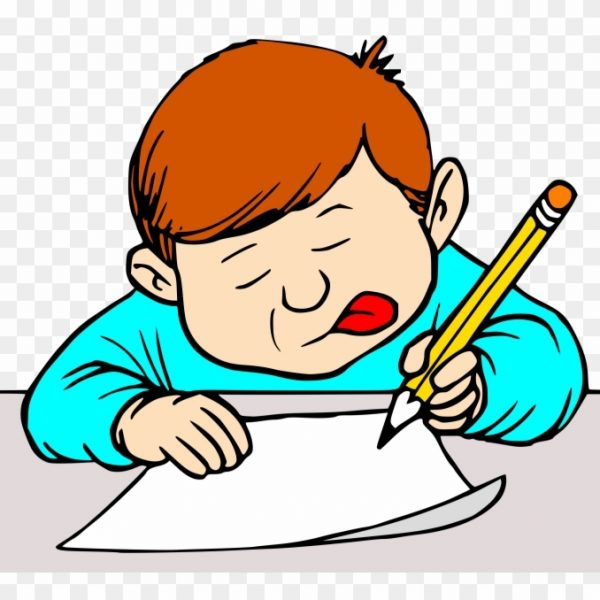 Students writing clipart clipart library stock Big Image – Student Writing Clip Art – Free Transparent Png ... clipart library stock