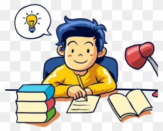 Students writing clipart vector download Free PNG Student Writing Clip Art Download - PinClipart vector download