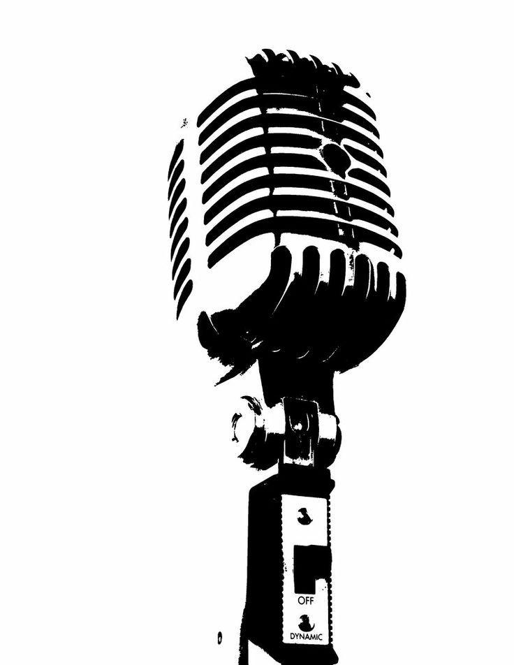 Studio mic clipart