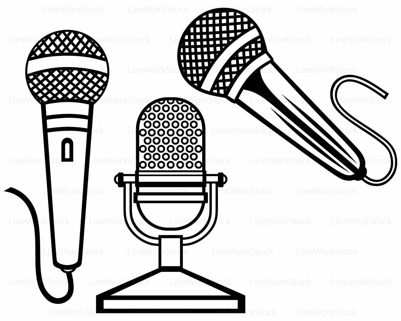 Studio mic clipart graphic transparent stock Microphone svg,microphone clipart,microphone svg,microphone ... graphic transparent stock
