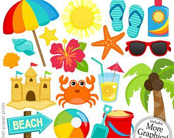 Stuf clipart picture transparent download Clip Art Of Beach Stuff | Clipart Panda - Free Clipart Images picture transparent download