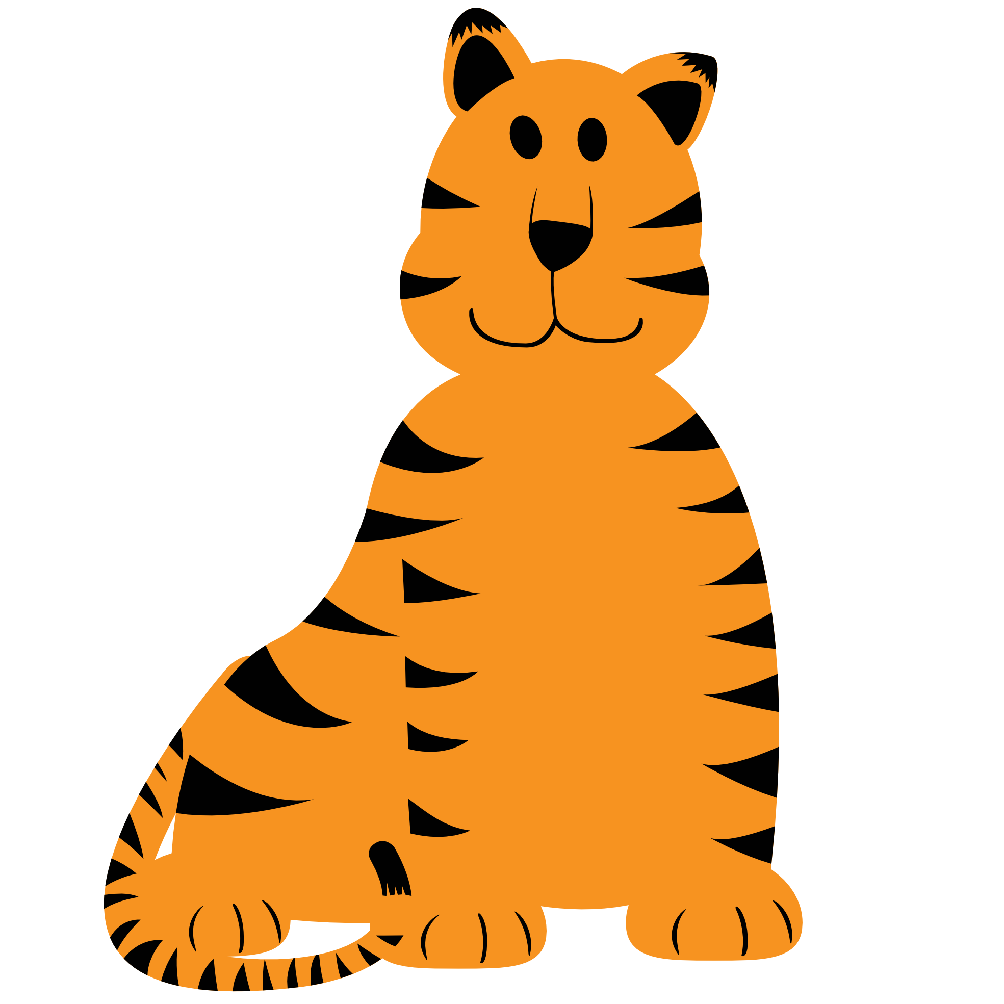 Stuffed cat clipart graphic download Baby Tiger Clipart at GetDrawings.com | Free for personal use Baby ... graphic download