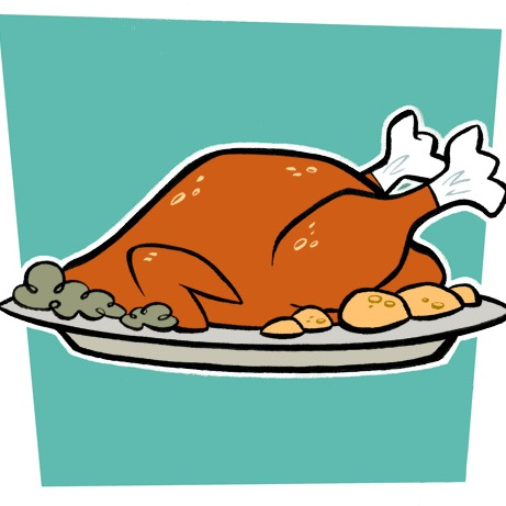 Thanksgiving dinner dance clipart clip black and white stock Free Turkey Clipart Images | Free download best Free Turkey ... clip black and white stock
