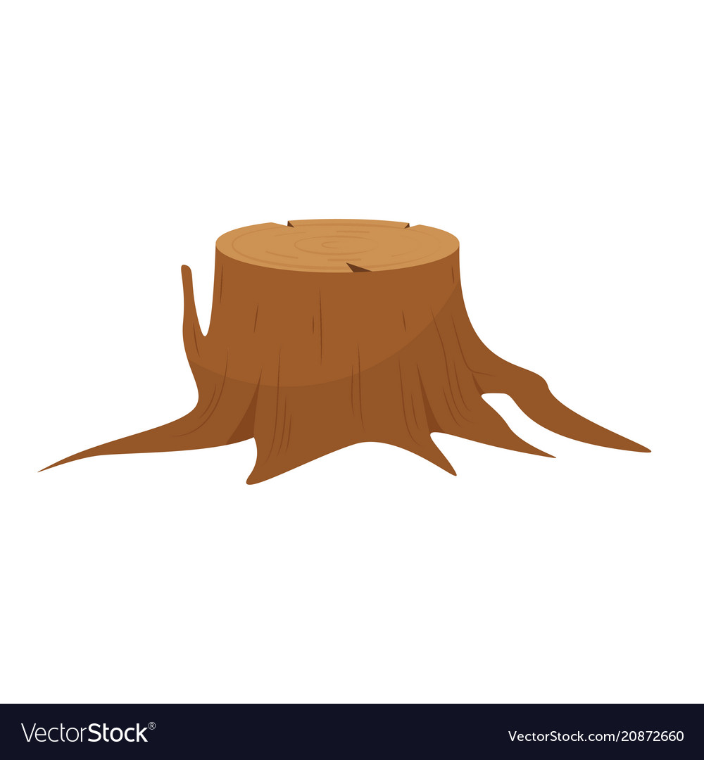 Stump clipart vector jpg black and white library Tree stump roots jpg black and white library