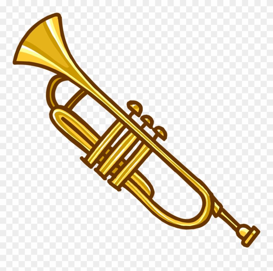 Trumpets clipart jpg transparent Free Musical Instruments - Cartoon Trumpet Png Clipart ... jpg transparent