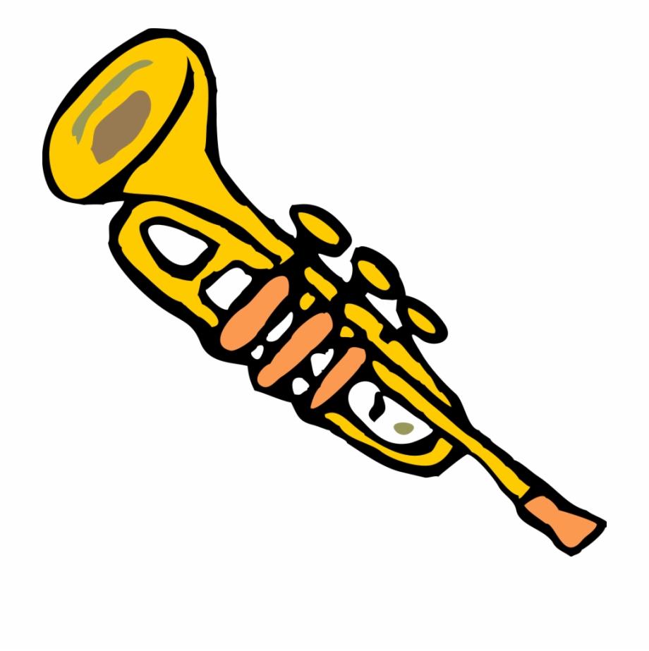 Trumpets clipart svg free download Trumpet Clipart Images - Cartoon Trumpet Transparent ... svg free download