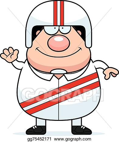 Stuntman clipart image transparent stock Vector Art - Waving cartoon stuntman. EPS clipart gg75452171 ... image transparent stock