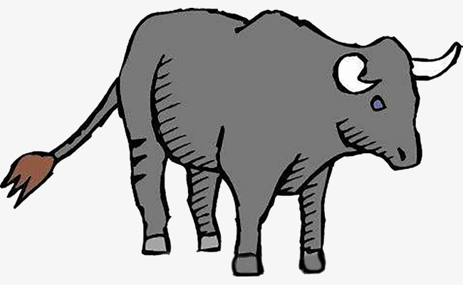 Sturdy clipart jpg freeuse library Gray Cow, Cow Clipart, Sturdy Tail, Cow #72633 - PNG Images ... jpg freeuse library