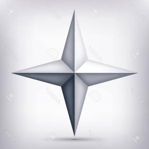 Stylized four point star shape clipart banner royalty free Photostock Vector Monochrome Background With Point Star ... banner royalty free