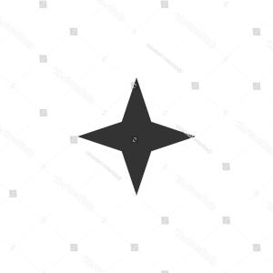 Stylized four point star shape clipart clipart royalty free library Photostock Vector Monochrome Background With Point Star ... clipart royalty free library