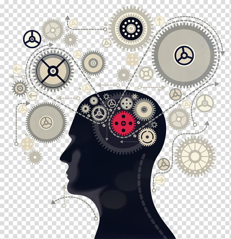 Subconscience clipart image free stock Human head with gears illustration, Mind Subconscious ... image free stock