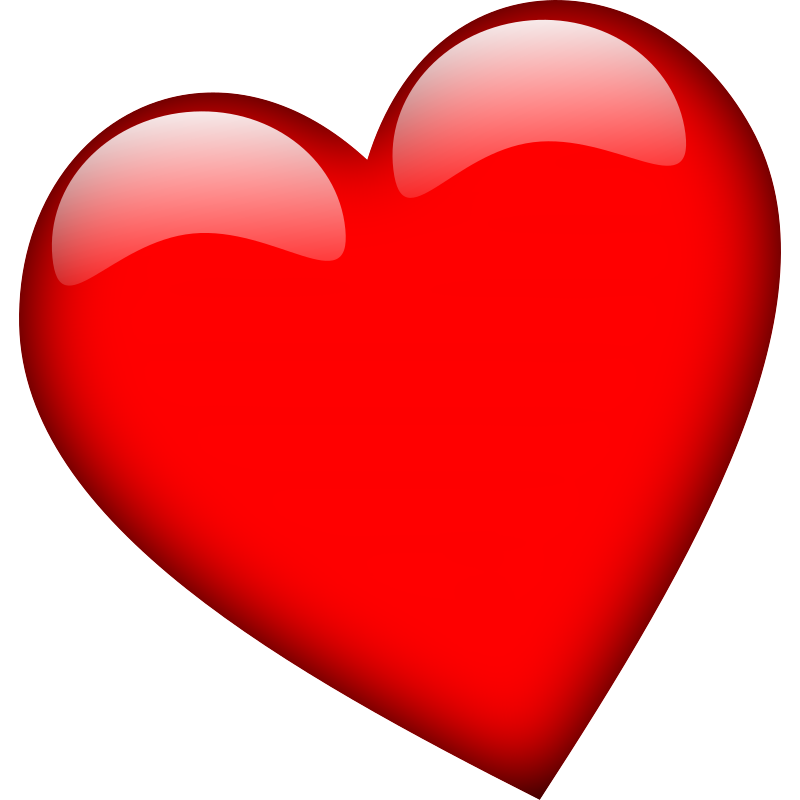Red heart pictures clipart picture free Free Heart Clipart, Heart Background Images, Heart PNG Files ... picture free