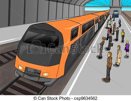 Subway station clipart vector library library Subway station clipart 2 » Clipart Portal vector library library