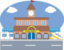 Subway station clipart svg library stock Search Results for subway station - Clip Art - Pictures ... svg library stock