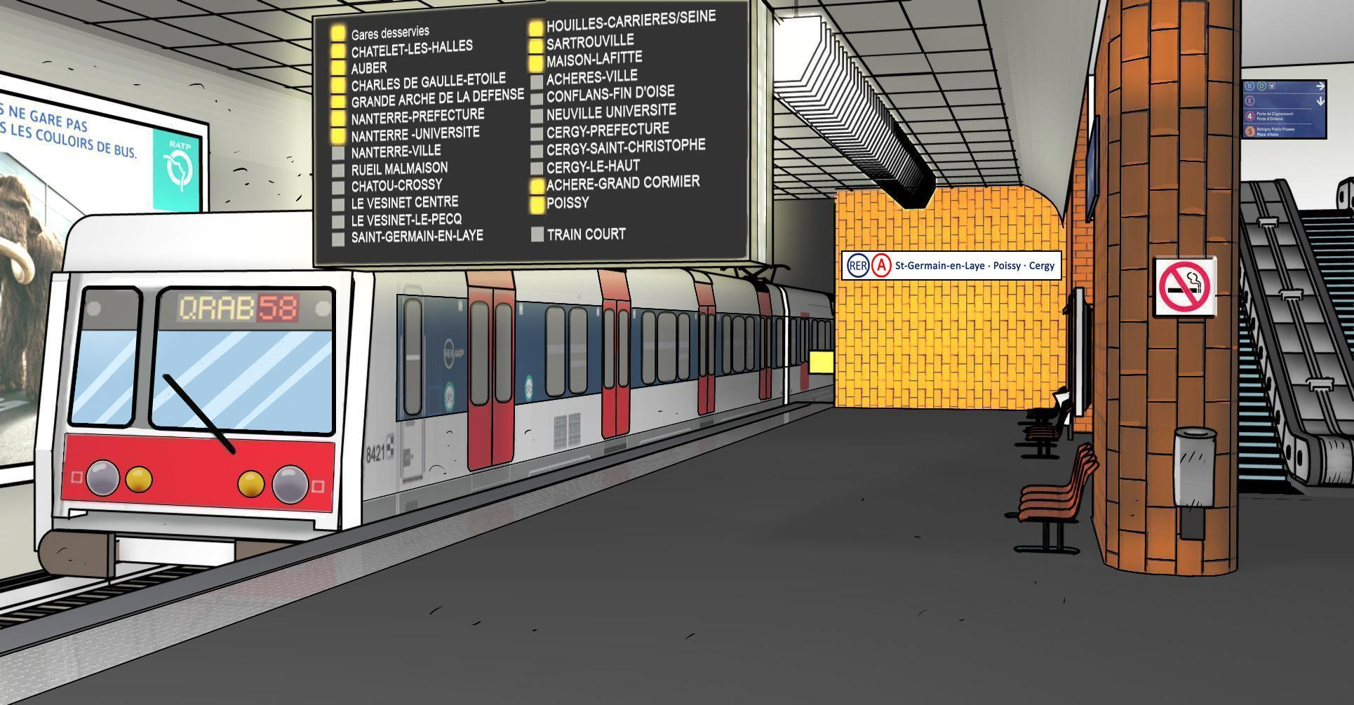 Subway station clipart vector library download 7+ Train Station Clipart | ClipartLook vector library download