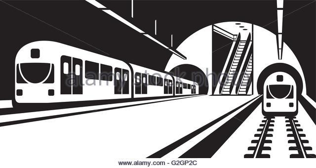 Subway station clipart banner free Train, Illustration, Transport, Graphics, Font, Design png ... banner free