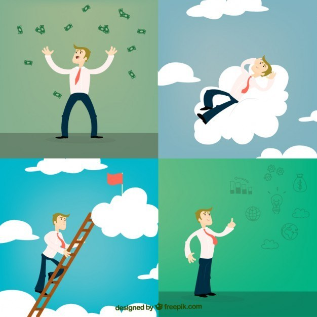 Successful entrepreneur clipart clip art royalty free Successful Entrepreneur Free Vector clip art royalty free