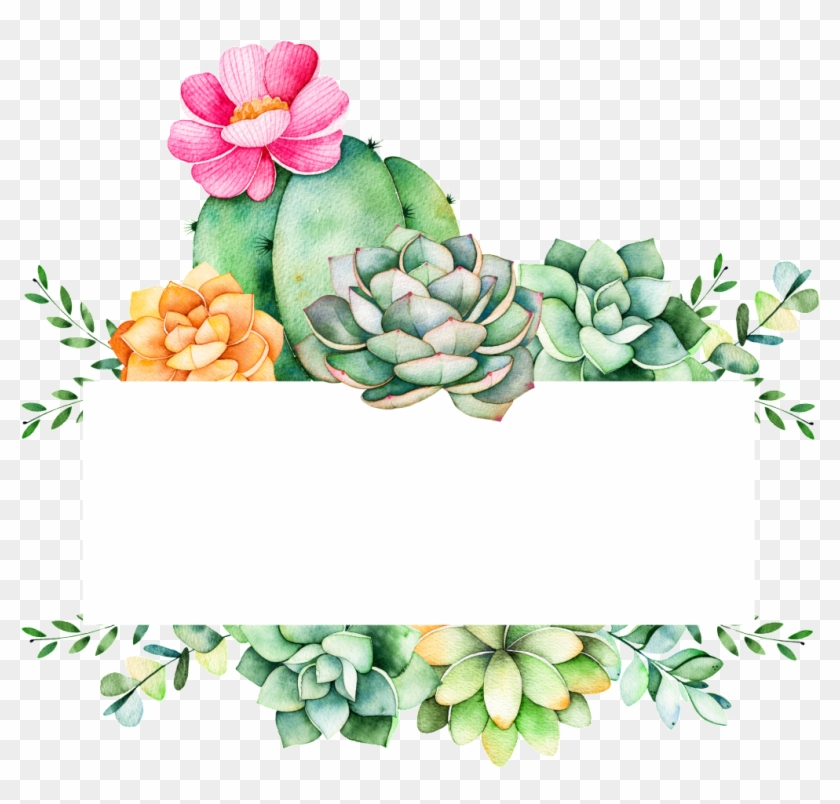 Succulent clipart download jpg freeuse download Easy To Grow Plants Cartoon Transparent - Succulent Logo, HD ... jpg freeuse download
