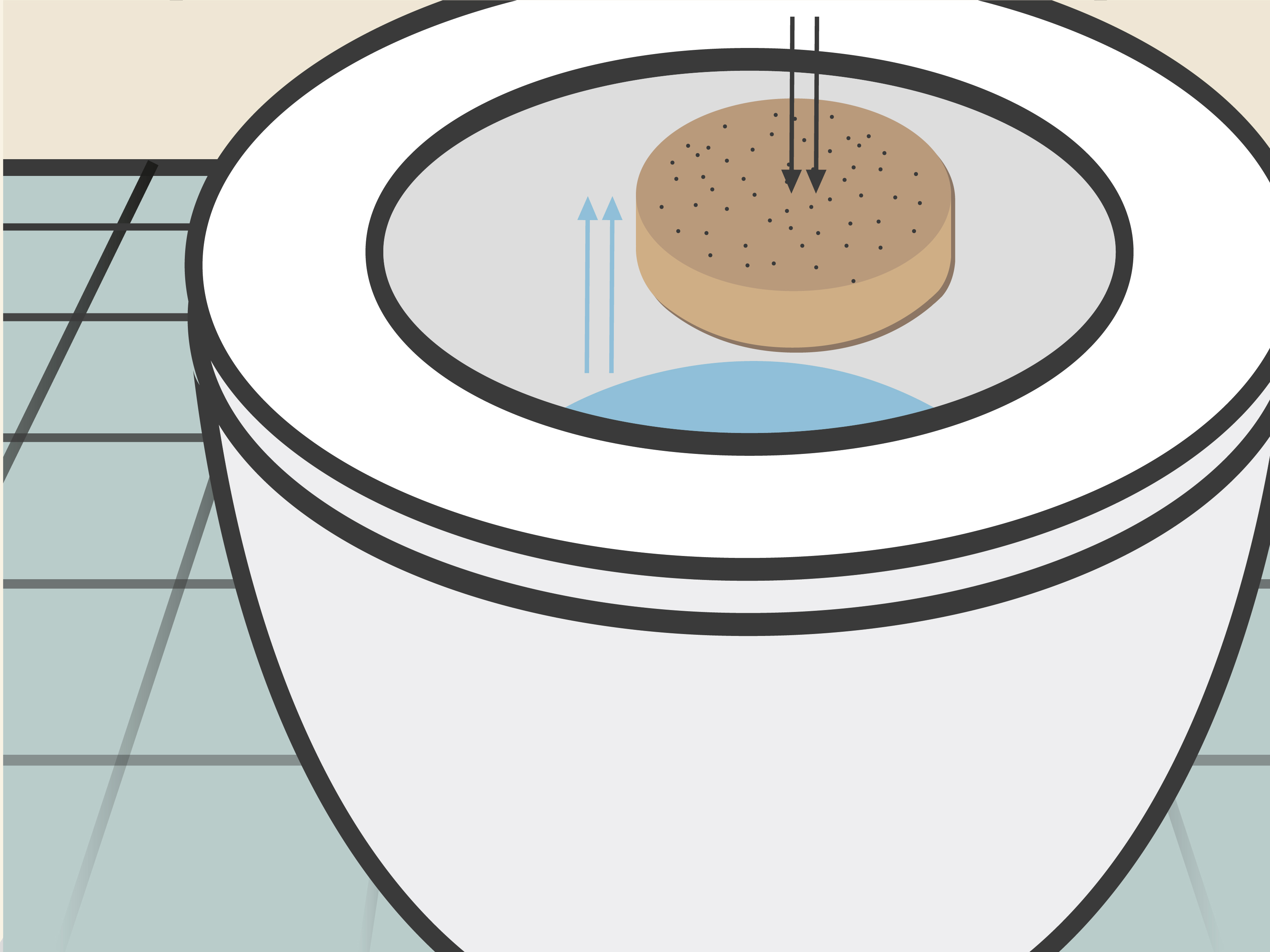 Sucking drain free clipart clip art stock How to Drain a Toilet: 9 Steps (with Pictures) - wikiHow clip art stock