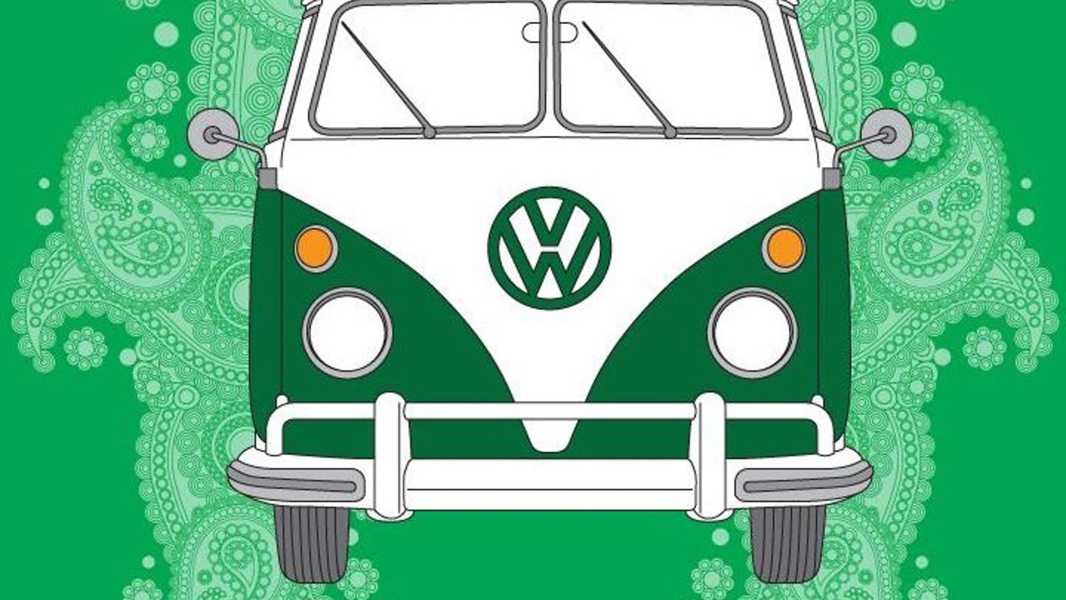 Sudan roadsters clipart image royalty free stock Hippie Van by Robert J. Luther — Kickstarter image royalty free stock