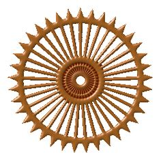 Sudharshana chakram cliparts graphic freeuse download Sudarshan chakra clipart 3 » Clipart Station graphic freeuse download