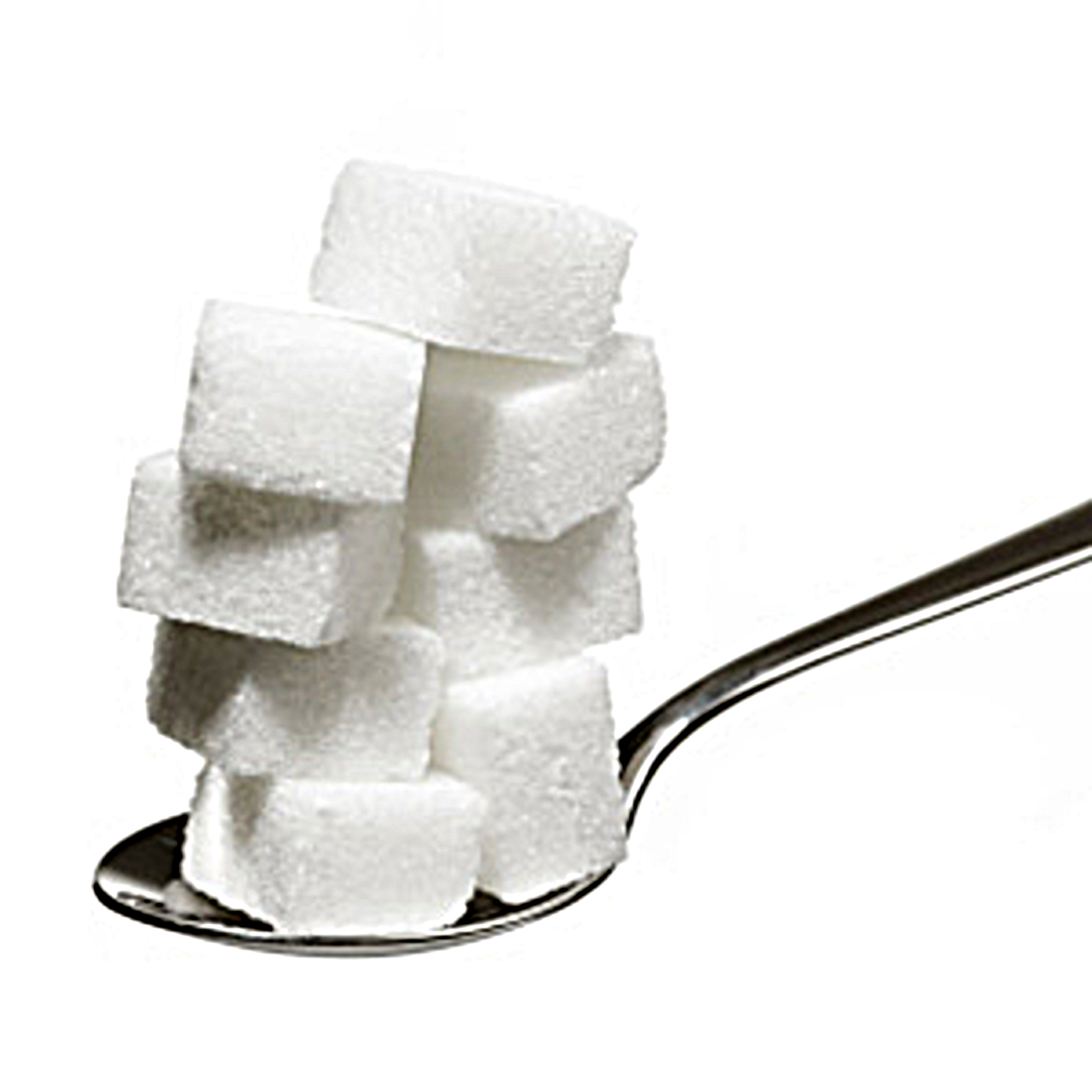 Sugar cubes clipart picture black and white stock Sugar On Spoon Doctored   Free Images at Clker.com - vector ... picture black and white stock