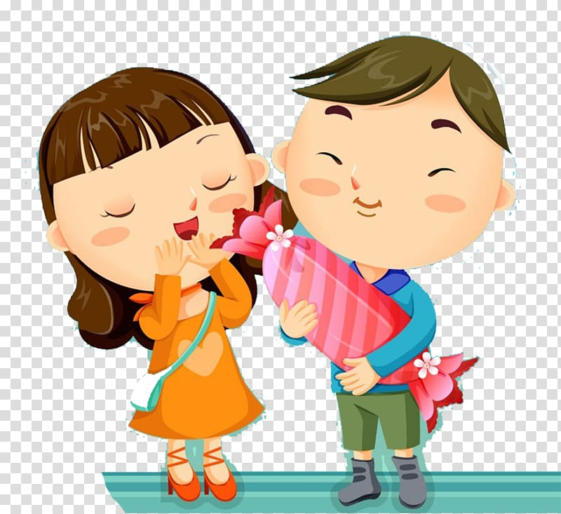 Sugar high clipart svg royalty free Cartoon Love High-definition television , Little couples ... svg royalty free