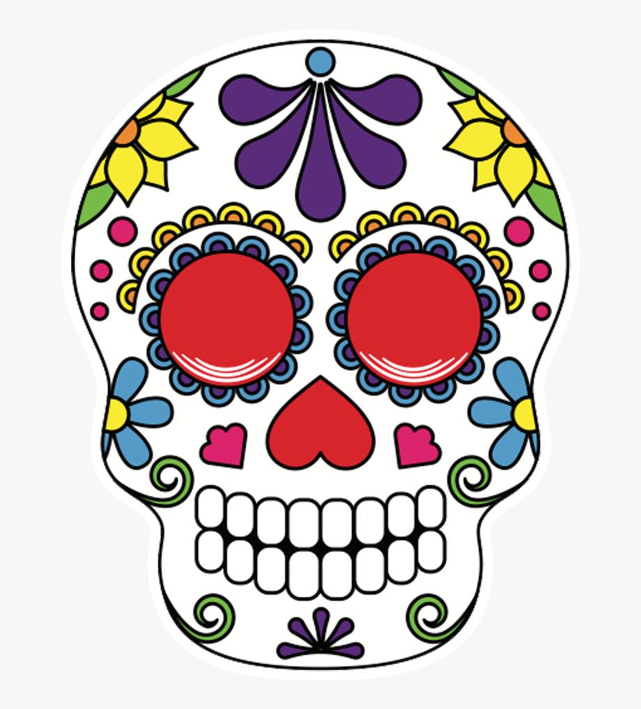 Sugar scull clipart clip art freeuse library Halloween Sugar Skull Clipart - Sugar Skull Photo Props ... clip art freeuse library