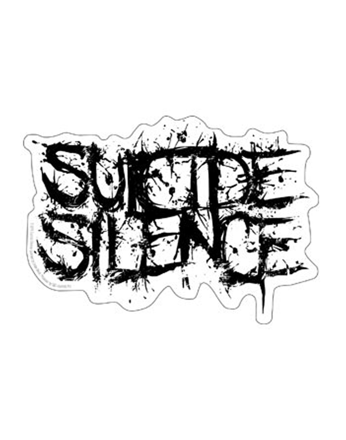 Suicide silence logo clipart clipart freeuse download Suicide Silence Logo Sticker | ShopRockAmerica.com clipart freeuse download