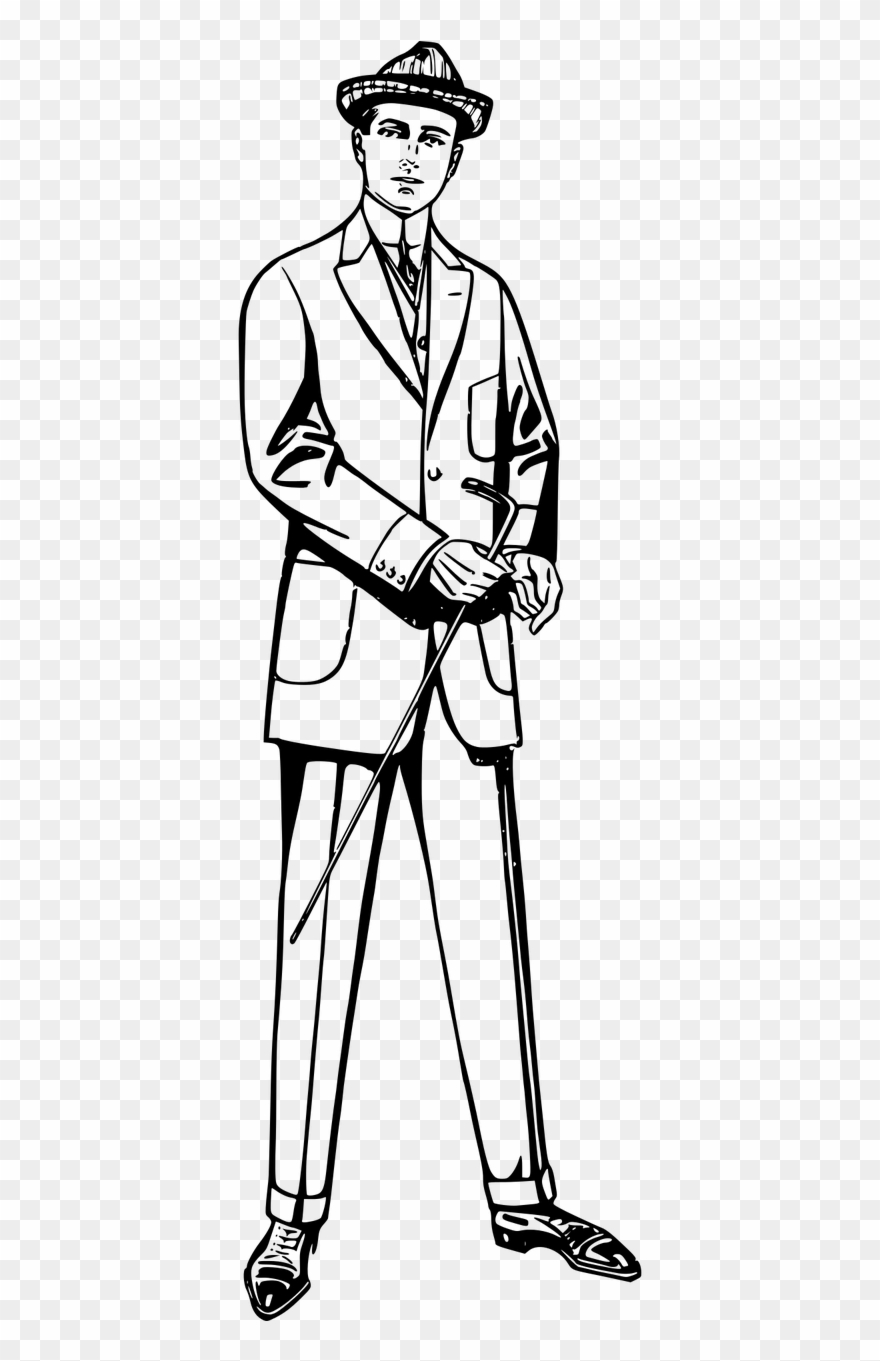Suit black and white clipart picture black and white download Suit Clip Art England Gentleman Footwear Clothing - Suit ... picture black and white download