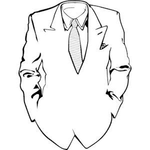 Suit black and white clipart picture transparent Free Tuxedo White Cliparts, Download Free Clip Art, Free ... picture transparent