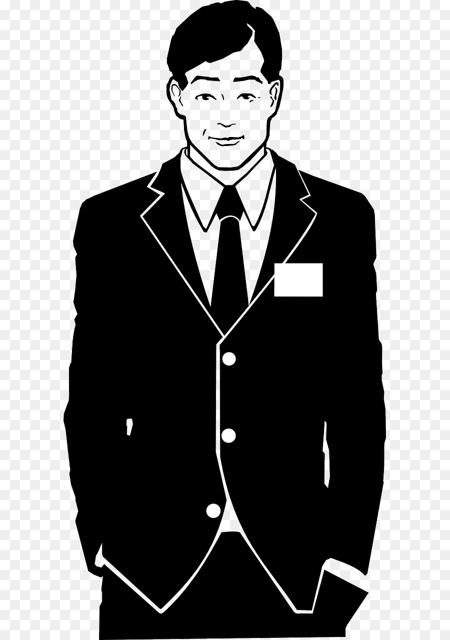 Suit black and white clipart picture black and white Book Black And White clipart - Man, Suit, Tuxedo ... picture black and white
