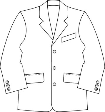 Suit black and white clipart graphic royalty free library Suit clipart black and white 4 » Clipart Portal graphic royalty free library