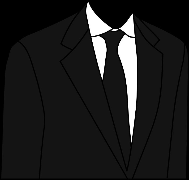 Suit clipart free picture transparent Suit, Necktie, Black, transparent png image & clipart free ... picture transparent