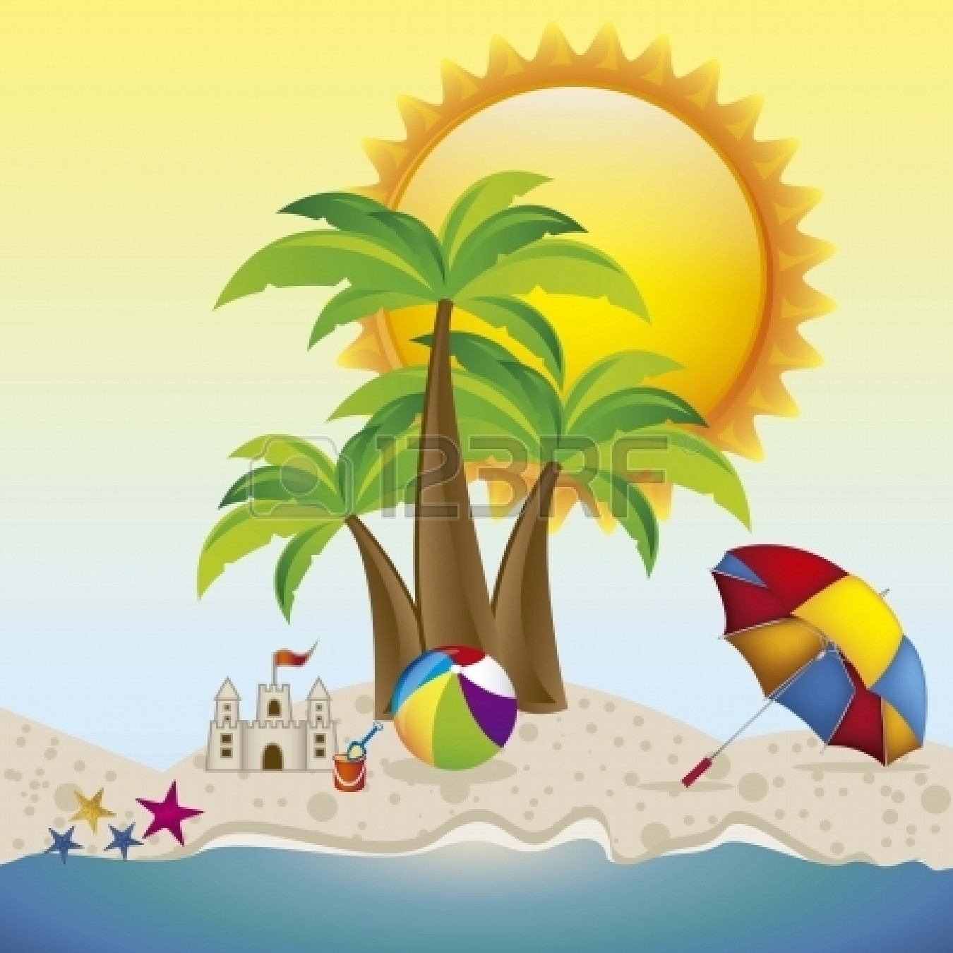 Summer backgrounds clipart image free library Summer Background Clipart | Free download best Summer ... image free library