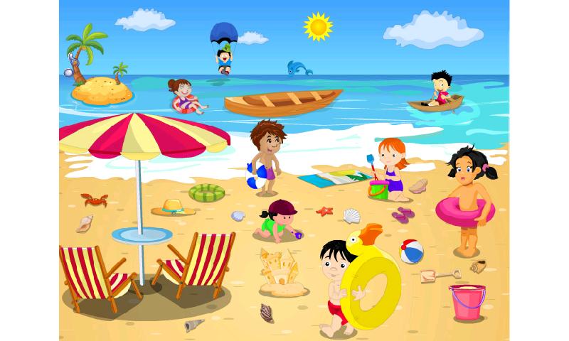Summer beach scene clipart jpg black and white download Free Beach Scene Cliparts, Download Free Clip Art, Free Clip ... jpg black and white download